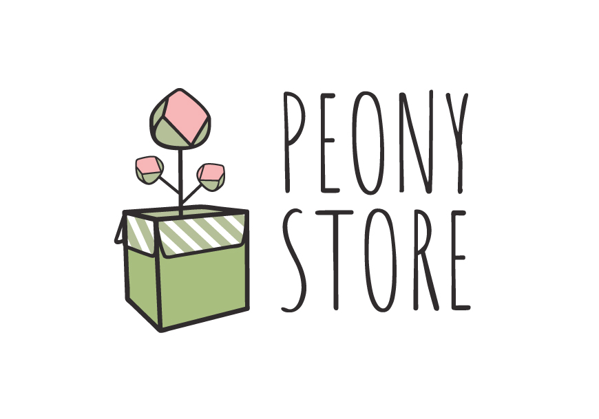 logo peony store